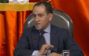 Arturo Herrera, secretario de Hacienda en comparecencia.