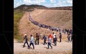 Agricultores logran retirar a la Guardia Nacional de la presa La Boquilla