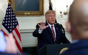 Minimicé la gravedad del coronavirus para evitar el pánico: Trump