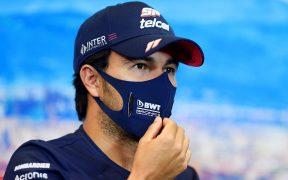 El mexicano 'Checo' Pérez sospechaba de su salida de Racing Point, pero fue el miércoles que se lo confirmaron. (Foto: EFE)