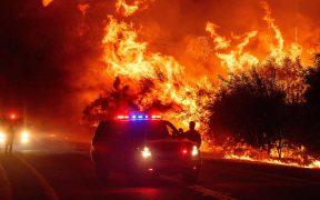 Incendios en California se extienden.