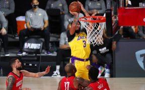 Davis fue el más dominante en el triunfo de Lakers sobre Rockets. (Foto: Reuters)
