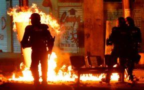 Protestas por brutalidad policial en Colombia