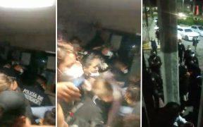 Desalojan a mujeres de la Codhem en Ecatepec; denuncian violencia policial