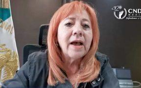 No se debe reprimir la toma de comisiones de Derechos Humanos: Rosario Piedra