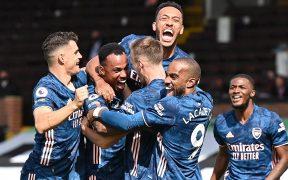 El Arsenal goleó al Fulham en el inicio de la Liga Premier. (Foto: EFE)