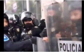 Gobierno de la Ciudad de México desplegará mil 700 policías durante la marcha del 8M