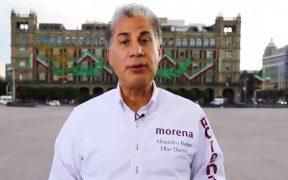 """Rojas Díaz Durán anuncia protesta en instalaciones del INE para pedir """"piso parejo"""" en elección de Morena"""