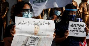 Protesta en Filipinas por indulto a Marine de EU.