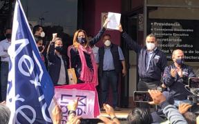 México Libre presenta queja de impugnación ante el INE