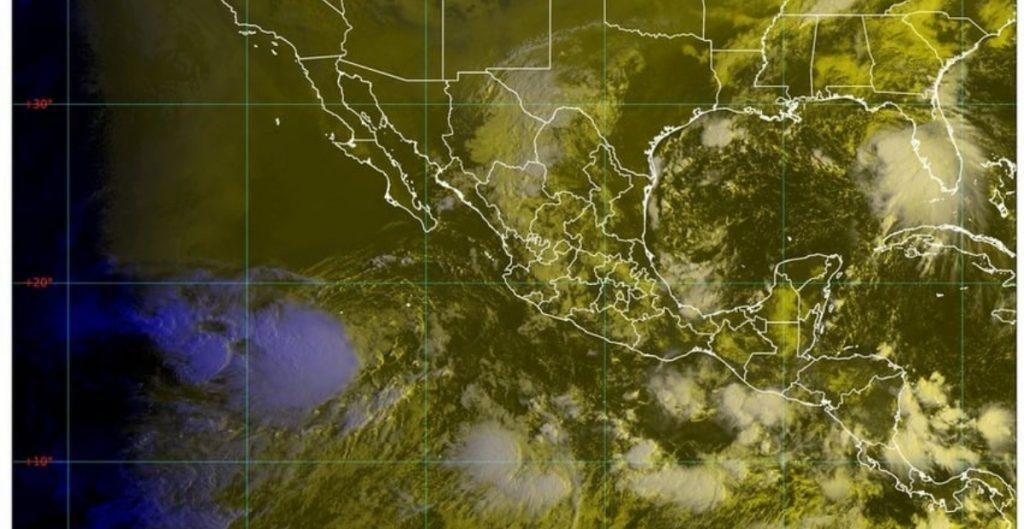 Alerta SMN fuertes lluvias para estados del norte, centro y sureste del país