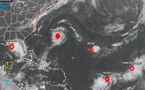 'Sally' impactará como huracán las costas de Louisiana