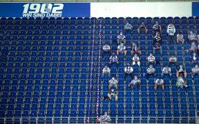 Aficionados ya pudieron entrar a los estadios en la Copa, y también lo harán en la liga de Alemania. (Foto: EFE)