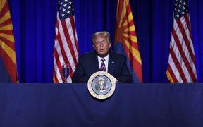 Política migratoria podría arrebatar a Trump el triunfo en 12 estados clave