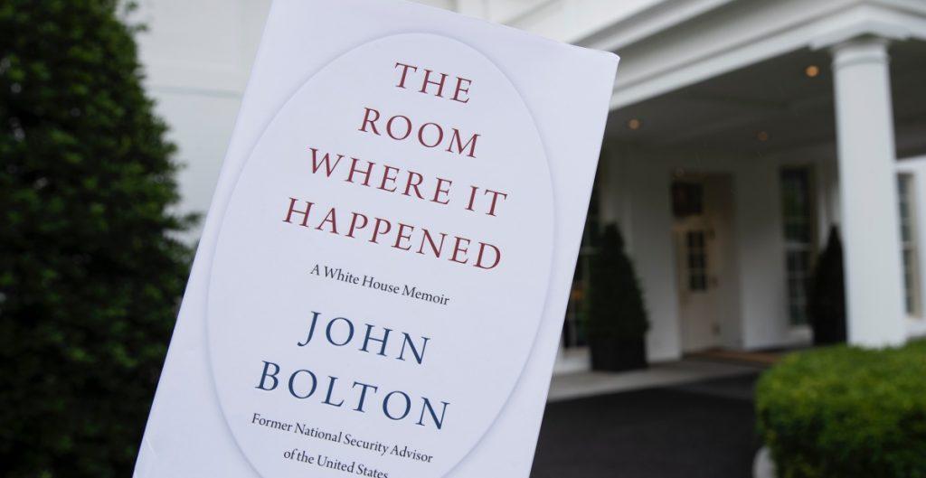 Departamento de Justicia de EU abre investigación criminal por libro del exasesor Bolton