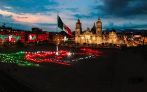 Grito de Independencia sin aforo en Zócalo de la CDMX