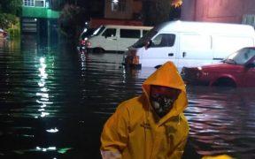 Fuertes lluvias en la CDMX