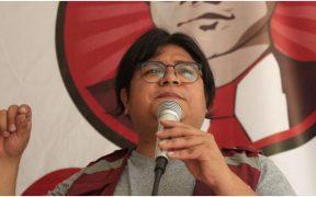 Gibrán Ramírez, aspirante a la presidencia de la Morena