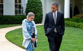 Resalta Obama el papel de Ginsburg en la lucha por la igualdad