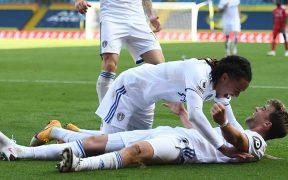El Leeds United logró su primer triunfo en su regreso a la Premier, ante Fulham. (Foto: EFE)