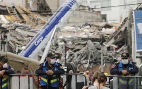 Suman 6 vinculaciones a proceso por derrumbes de edificios durante los sismos de 2017