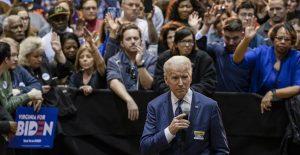 Demócratas donan a la campaña de Joe Biden.