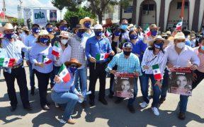 Manifestaciones por el agua son mitines del PAN, asegura AMLO; Madero dice que es apoyo