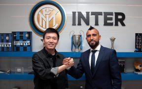 Arturo Vidal llega al Inter de Milán tras dos años en el Barcelona. (Foto: @Inter)