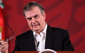 Ebrard rechaza estar involucrado en elección interna de Morena, como acusa Muñoz Ledo