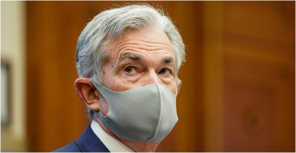 Jerome Powell, titular de la Fed