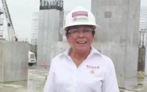 TEPJF ordena sancionar a Rocío Nahle por difundir propaganda gubernamental durante la veda electoral