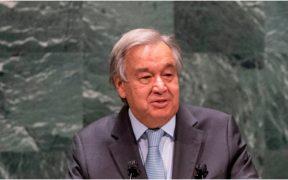 Antonio Guterres, titular de la ONU