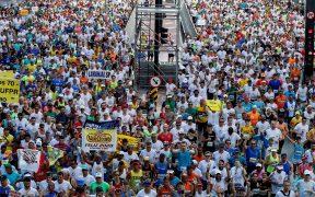 La carrera San Silvestre se correrá el próximo año en julio, y no el tradicional 31 de diciembre. (Foto: EFE)