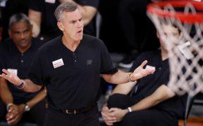 Billy Donovan dejó al Thunder y será el nuevo entrenador de los Bulls. (Foto: EFE)