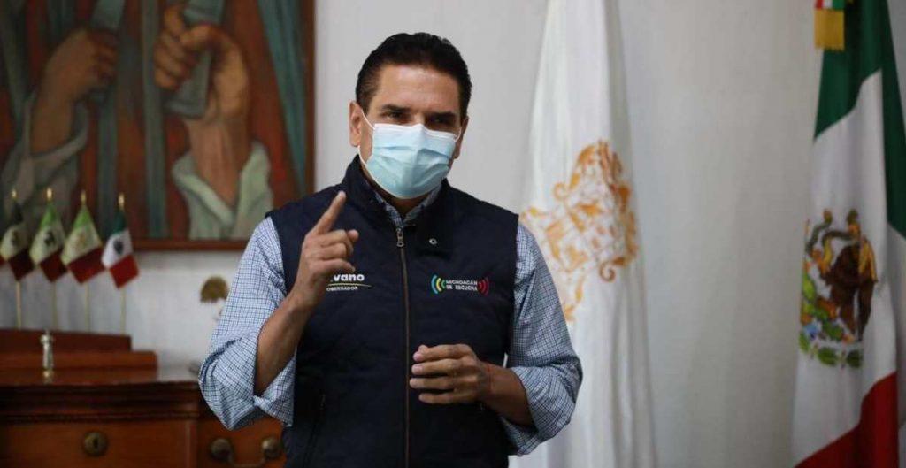 Aureoles acusa a Herrera de dar informes imprecisos sobre pagos a CNTE en Michoacán