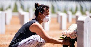 El coronavirus ha matado a más personas en EU que las últimas cinco guerras