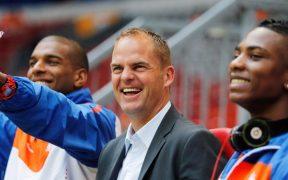 Frank de Boer reemplaza a Koeman en Holanda y debutará ante México. (Foto: @KNVB)