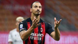 Zlatan Ibrahimovic dio positivo al COVID-19 y está aislado, reportó el Milan. (Foto: EFE)
