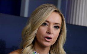 La secretaria de Prensa de la Casa Blanca, Kayleigh McEnany.