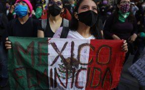 AMLO asegura trabajar contra feminicidios; sus datos lo contradicen