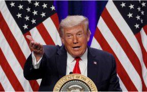Donald Trump, presidente de Estados Unidos, en un evento de campaña en Florida