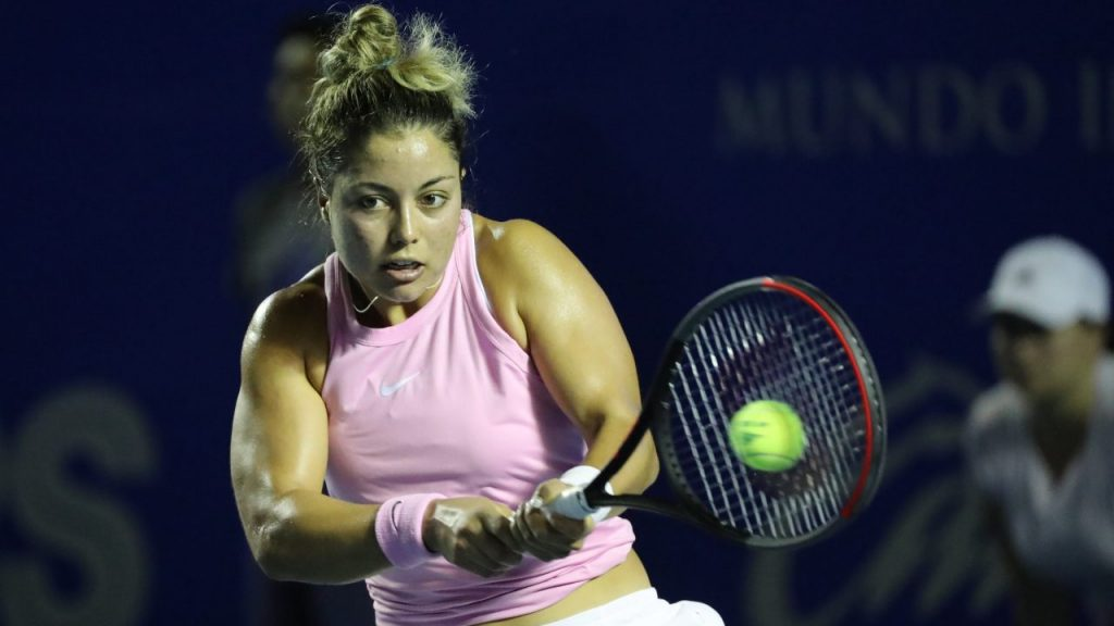 Renata Zarazúa hará historia al jugar su primer Grand Slam. (Foto: EFE)