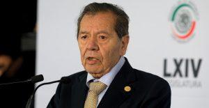 Porfirio Muñoz Ledo, aspirante a la dirigencia de Morena