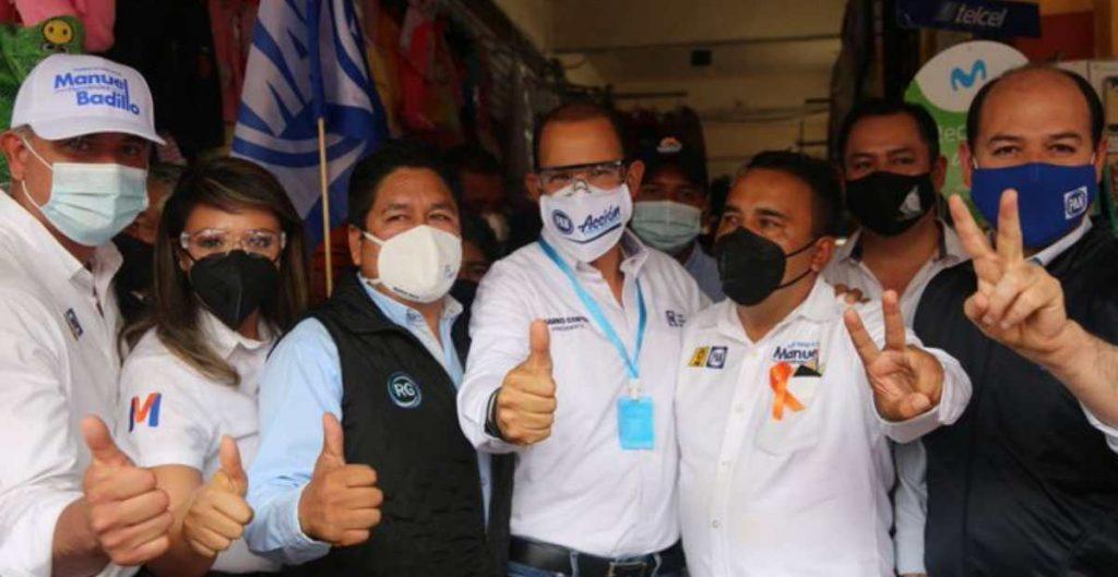 PAN y PRD forman alianza en 28 municipios para elecciones en Hidalgo