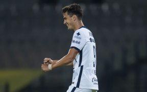 El argentino Dinenno marcó su octavo gol de la temporada, para el empate 1-1 ante Necaxa. (Foto: Mexsport)