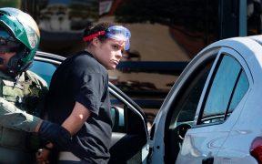 Conductora arrolla a 2 personas durante manifestación de simpatizantes de Trump en California