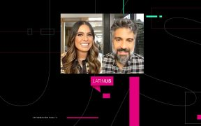 Galilea Montijo platica con Jaime Camil acerca de su nueva miniserie para Apple TV