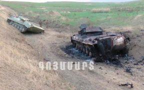 Sigue el combate entre Armenia y Azerbaiyán por la región disputada de Nagorno-Karabaj