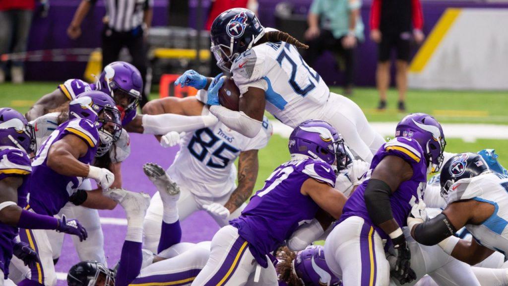 Vikings y Titans se enfrentaron el domingo, en la Semana 3 de la temporada 2020 de la NFL. (Foto: Reuters)