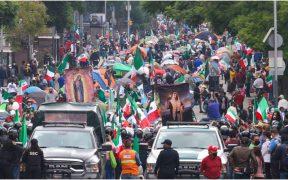 A la primera manifestación con 100 mil personas en mi contra, me voy a Palenque, afirma AMLO